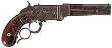 Rare Smith & Wesson No. 1, Lever Action Repeating Pistol