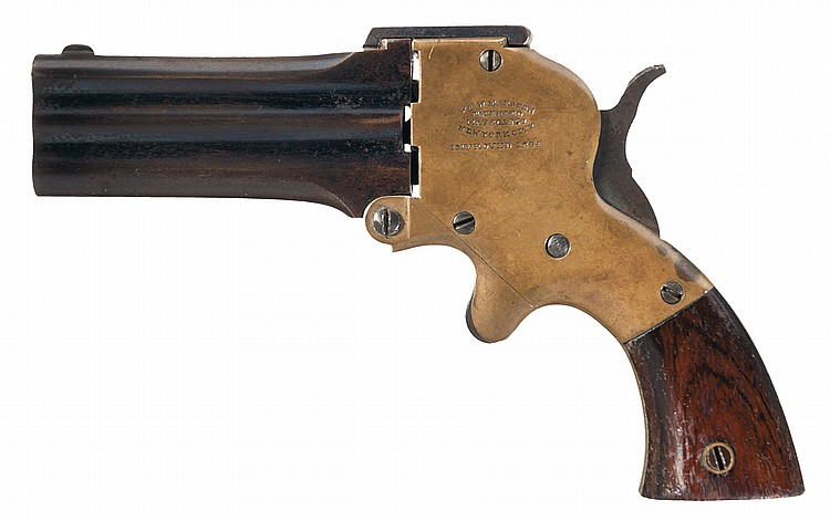 Wm. W. Marston Three-Barrel Pistol