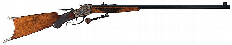 Winchester Model 1885 High Wall Schuetzen Rifle