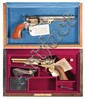 Two Cased American Historical Foundation Commemorative Percussion Revolvers