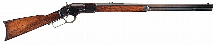 Excellent Documented Winchester Third Model 1873 Lever Action Rifle