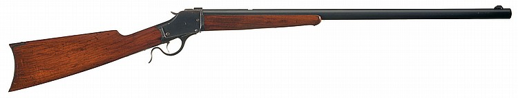Winchester Model 1885 High Wall Single Shot Plain Sporting Rifle