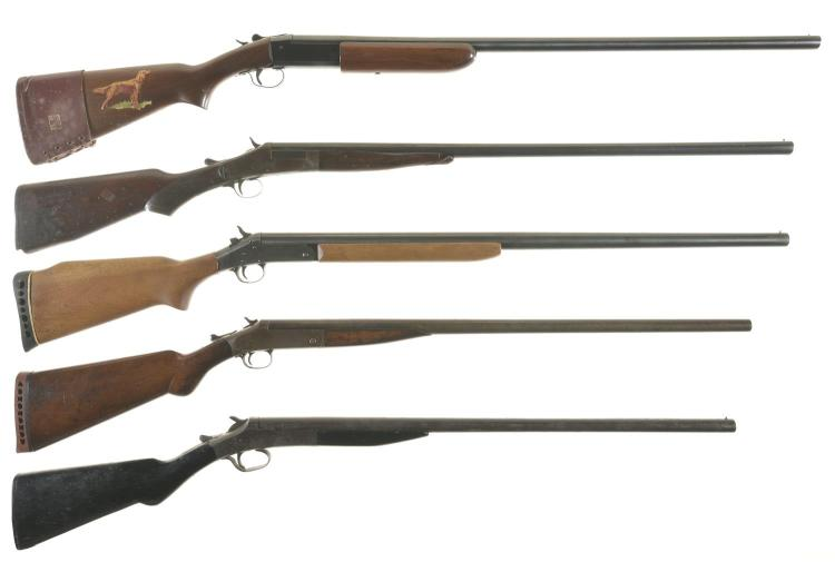 single barrel shotguns