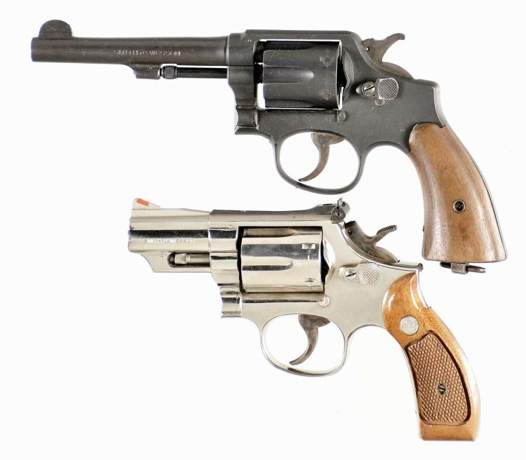 Two Smith & Wesson Double Action Revolvers -A) Smith & Wesson Model 1905 Revolver