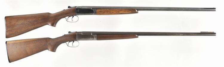 Two Winchester Double Barrel Shotguns -A) Winchester Model 24 Shotgun
