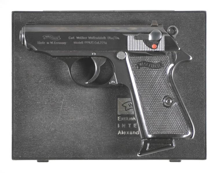 Walther Model PPK/S Semi-Automatic Pistol with Matching Case and Manual