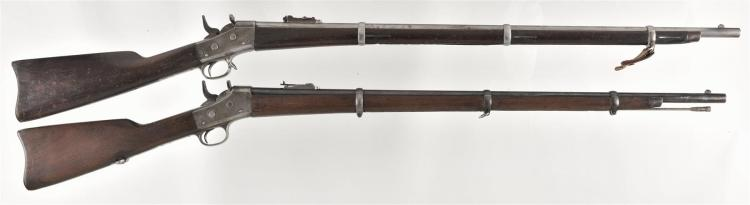 Two Remington Rifles -A) Remington Rolling Block Rifle