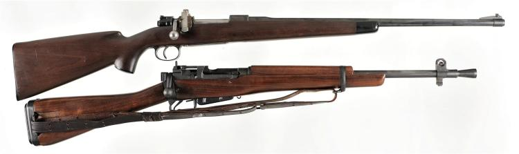 Two Bolt Action Rifles -A) Brunn/BRNO