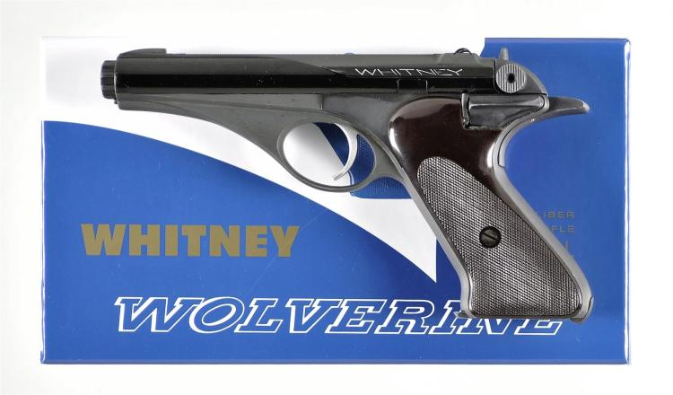 Scarce Whitney Firearms Inc Wolverine Semi-Automatic Pistol with Box