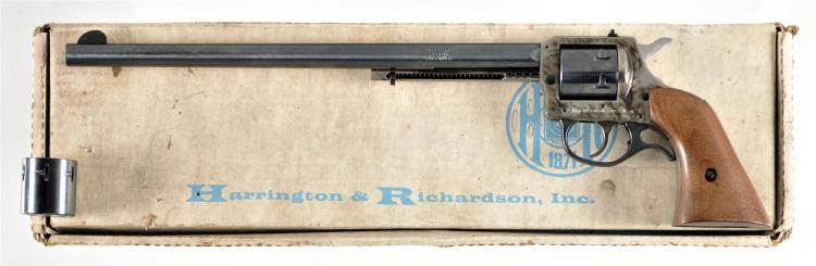 Boxed Harrington and Richardson Model 676 Double Action Revolver with Extra Cylinder