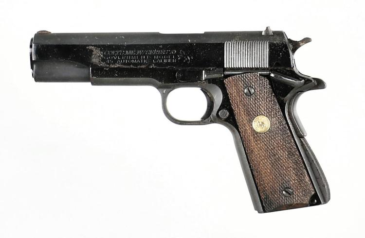 Colt Service Model Ace Semi-Automatic Pistol with MK IV Series 70 Slide and Barrel