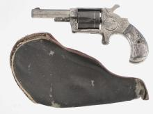 Norwich Pistol Company Spur Trigger Revolver with DeGress