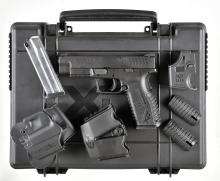 Springfield Armory Model XDM-9 Semi-Automatic Pistol with Case and Accessories