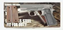Randall Firearms Service Model Semi-Automatic Pistol with Box and Extra Grips