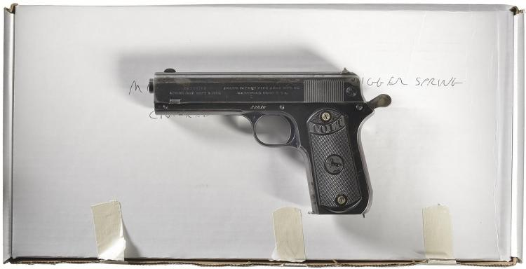 Colt 1903 Pocket Hammer Semi-Automatic Pistol with box