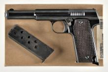 Spanish Astra Model 1921 Semi-Automatic Pistol with Accessories