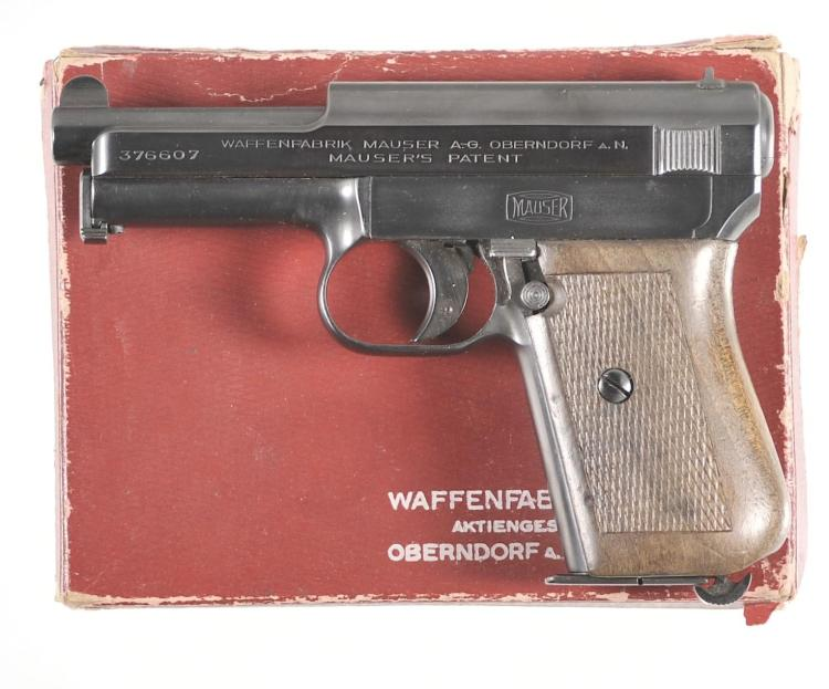 Mauser Model 1914 Semi-Automatic Pistol with Box
