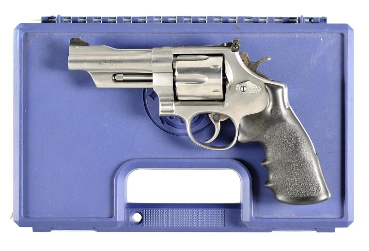 Smith & Wesson Model 625-6 Double Action Revolver with Matching Case