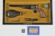 Colt Model 1860 Army Percussion Revolver Case Set Limited Edition with Accessories