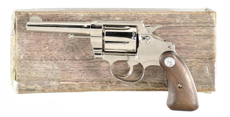 Colt Police Positive Special Double Action Revolver with Matching Box