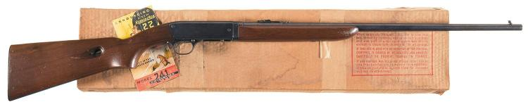 Remington Model 241 Speedmaster Semi-Automatic Rifle with Box