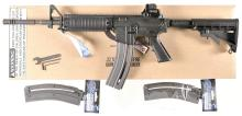 Colt M4 Semi-Automatic Carbine with Matching Box and Accessories