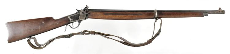 U.S. Winchester Model 1885 Low Wall Single Shot Musket with Sling