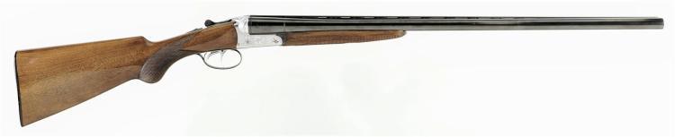 Engraved Beretta Double Barrel Shotgun