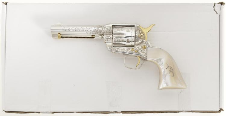 Engraved Roy Rogers Commemorative Italian Single Action Revolver