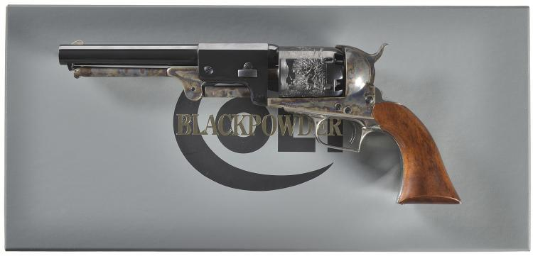 Boxed Colt Whitneyville Hartford Dragoon Percussion Revolver