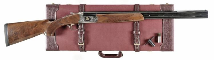 Italian Ducks Unlimited Special Over/Under Shotgun with Case
