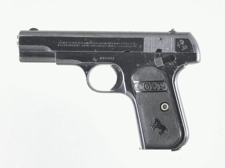 Colt Model 1903 Pocket Hammerless Semi-Automatic Pistol