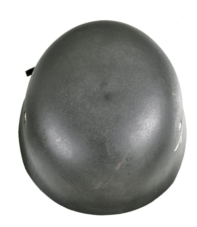 German Style Military Helmet with Nazi Markings