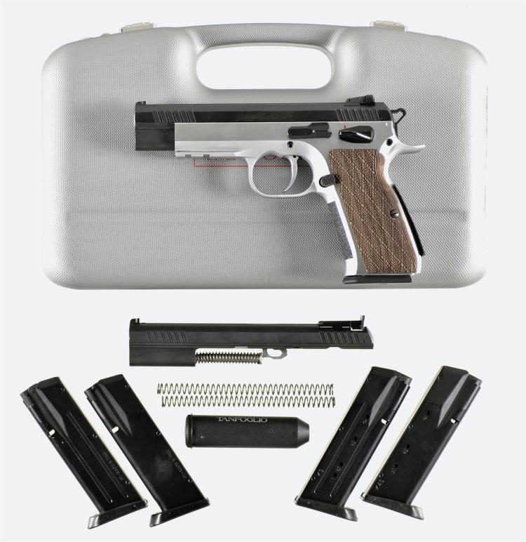 Tanfoglio Witness Match Semi-Automatic Pistol with Accessories