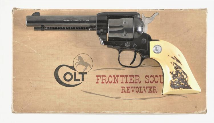 Colt Model Frontier Scout '62 K Model Single Action Revolver with Box