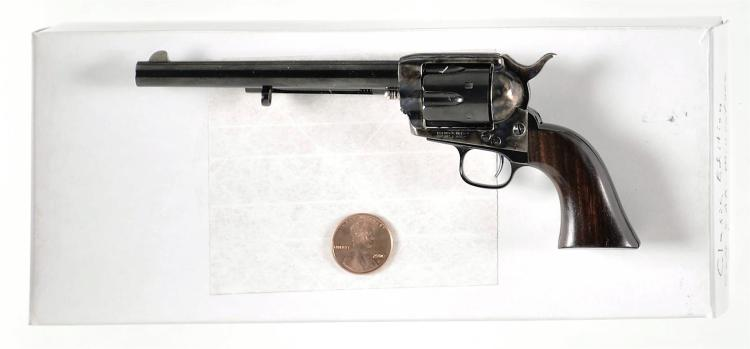 Miniature Non-Firing Colt Peacemaker Single Action Army Revolver with Box