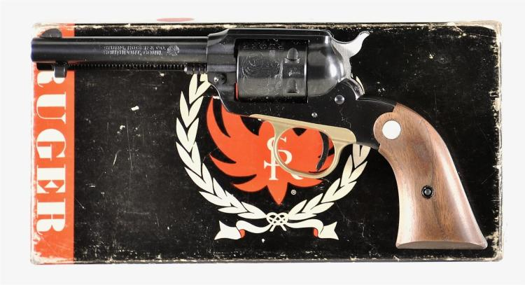 Ruger Super Bearcat Single Action Revolver with Box