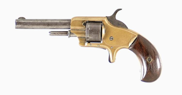 Whitneyville Armory Model No 1 Round Barrel Spur Trigger Revolver