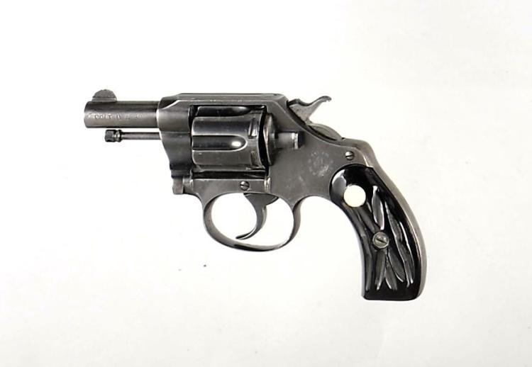 Colt New Police Double Action Revolver