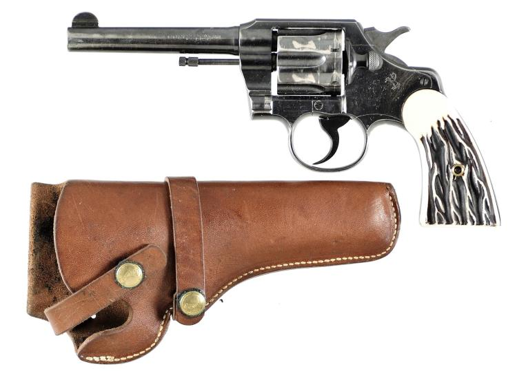 Colt Official Police Double Action Revolver with Holster