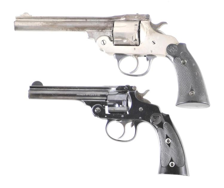 Two Double Action Revolvers -A) Eastern Arms Top Break Revolver