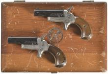 Cased Pair of Colt Derringers -A) Colt Third