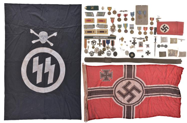 Assorted German Military Style Memorabilia