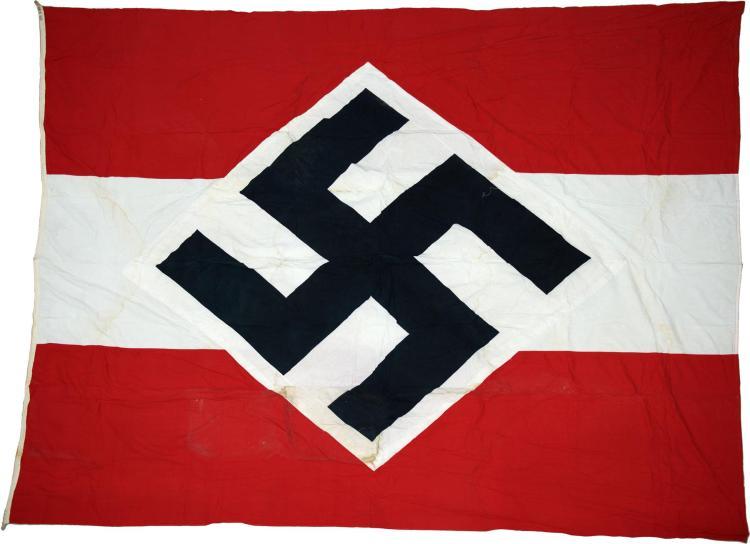 Large Nazi Style Flag