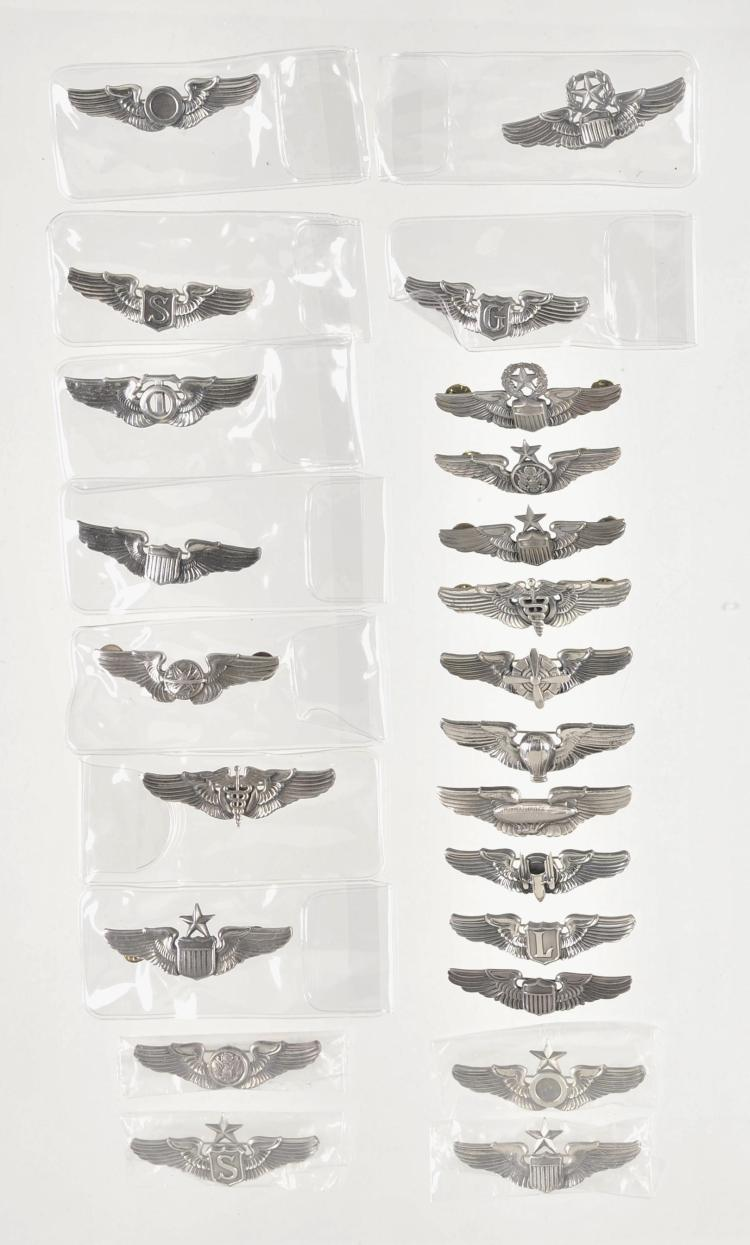 Group of Twenty-Three Aviation-Related Pins