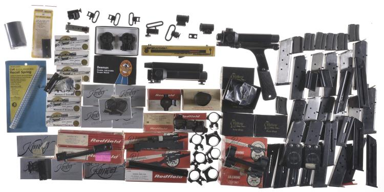 Group of Firearm Accessories
