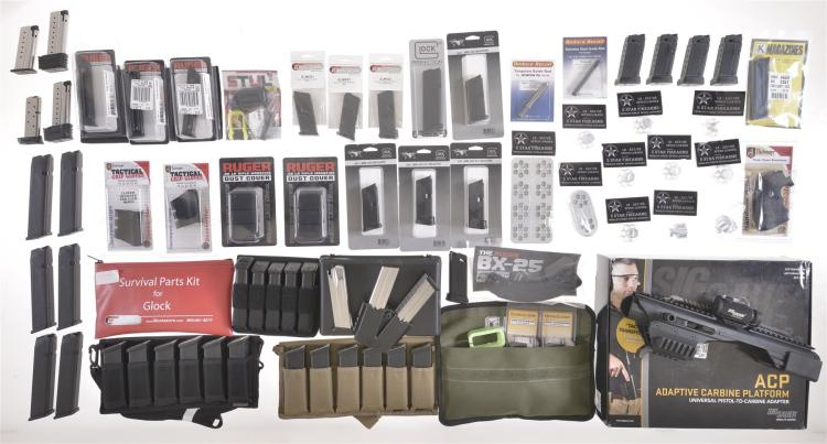 Large Group of Firearms Accessories