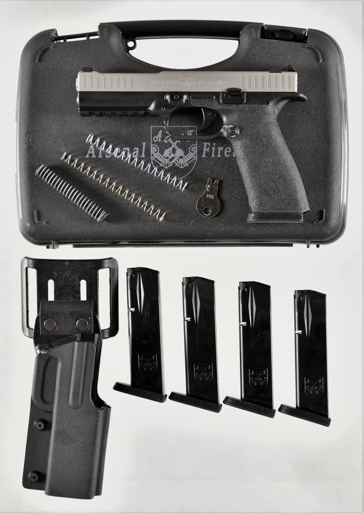Arsenal Firearms Strike One Semi-Auto Pistol With Case and Accessories