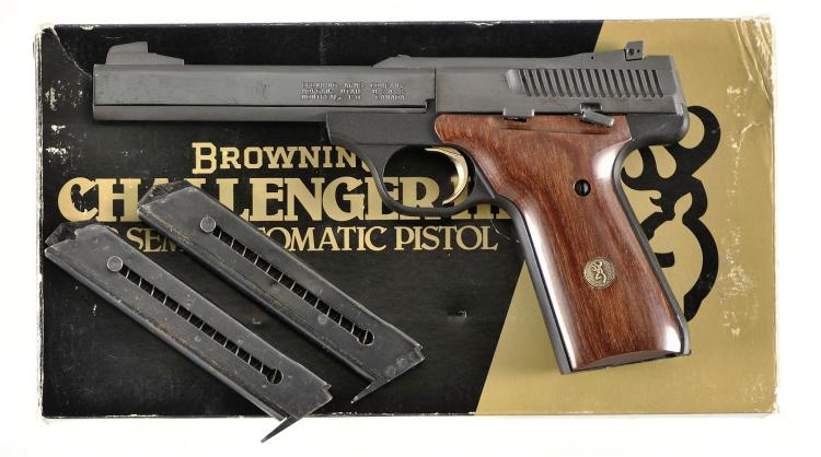 Browning Arms Challenger III Semi-Automatic Pistol with Matching Box