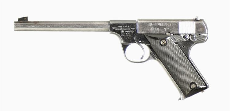 High Standard Model B Semi-Automatic Pistol